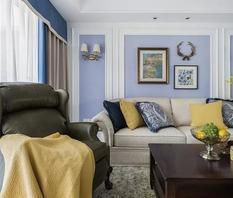 浪漫美式风格装修,优雅与舒适的品味之家