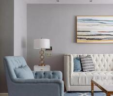 大户型清新美式风三居,品质生活的居家体验