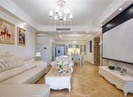 162平的现代美式风四居室,欧式家具让房子更显优雅